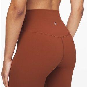 "Lululemon Align Pant 28"" -Rustic Clay"